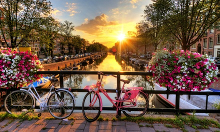 Groupon Deal: ✈ 7-Day Paris and Amsterdam Vacation with Airfare from go-today. Price/Person Based on Double Occupancy.