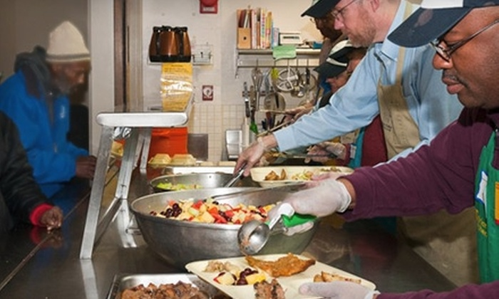 Miriam's Kitchen: Donate $1 or $10 to Help Miriam's Kitchen Serve Meals to People Experiencing Homelessness