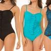 Vee Women's Plus Size One-Piece Swimsuit