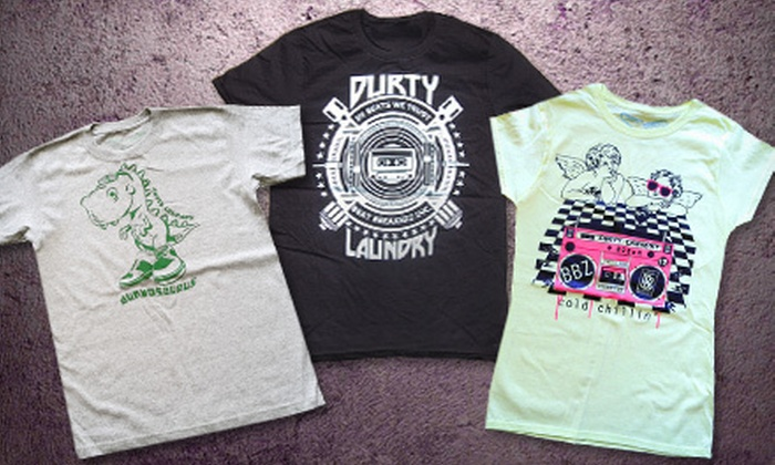 Durty Laundry: $15 for $30 Worth of Limited-Edition Artistic Tees from Durty Laundry