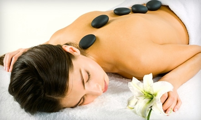 Massage Heights - Westlake Village: $65 for a 90-Minute Hot-Stone Massage with a Foot Scrub and Aromatherapy at Massage Heights ($195.99 Value)