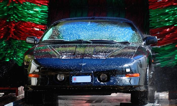 Autowash - Multiple Locations: $25 for Five Ultimate Car Washes at Autowash ($50 Value)