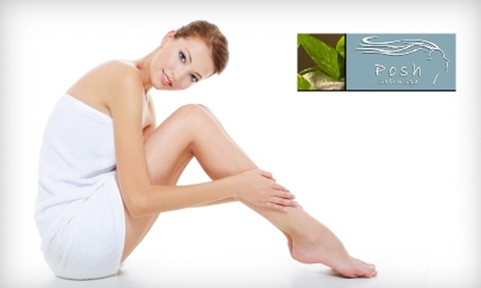 Posh Salon and Spa - Newnan: $25 for Choice of Spa Mani-Pedi or a Posh Facial at Posh Salon and Spa in Newnan ($60 Value)