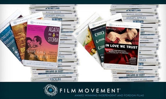Film Movement: $85 for a Full-Year Membership to the Indie Film of the Month Club at Film Movement ($192 Value)