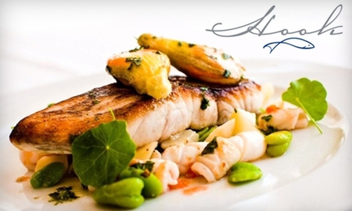 Hook - Georgetown: $25 for $50 Worth of Fresh, Sustainable Seafood and Drinks at Hook