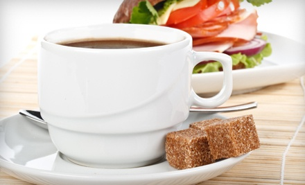 $20 Groupon to Daily Brew Coffee House - Daily Brew Coffee House in Riverside