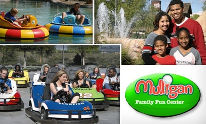 Mulligan Family Fun Center - Los Angeles: $10 for One All-Day Pass to Mulligan Family Fun Center
