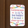 Up to 79% Off a Kids' Custom Door Sign from Monogram Online