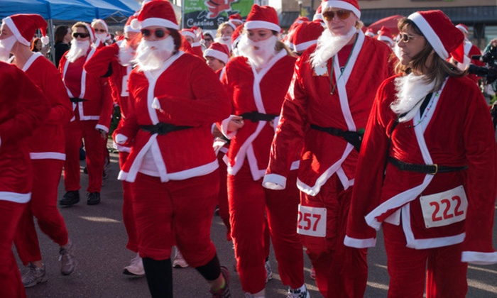 LYMevents - Downtown Colorado Springs: Up to 45% Off Chasing Santa 5K at LYMevents