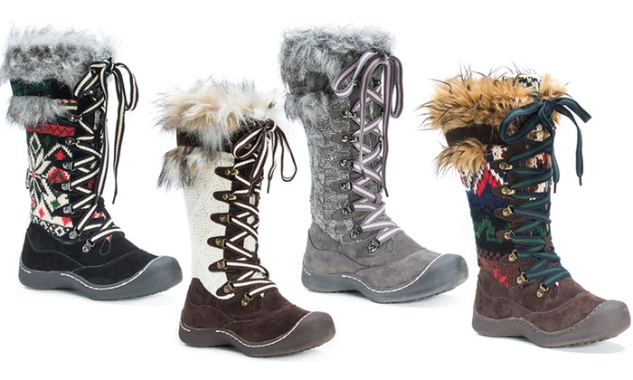 Muk Luks Gwen Women's Snow Boots (Sizes 6, 7, 8)