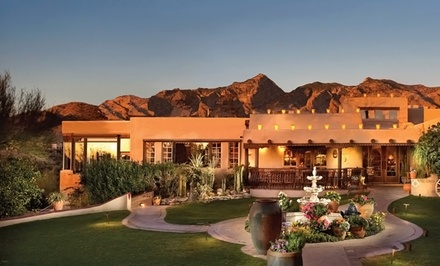 Groupon Deal: 1- or 2-Night Stay for Up to Four with Wine and Optional Resort Credit at Hacienda Del Sol Guest Ranch Resort in Tucson