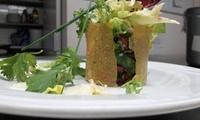 Menu gastronomique en 3 services pour 2 ou 4 personnes dès 35€ au restaurant lAtelier