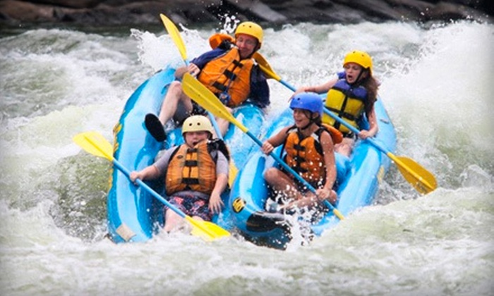 Ace Adventure Resort - Minden, WV: $ 69 for a Whitewater-Rafting Trip with Two Nights of Camping and Grilled Lunch from Ace Adventure Resort ($ 145 Value)