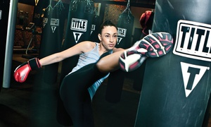 TITLE Boxing Club: $19 for Two Weeks of Kickboxing or Boxing Classes with Hand Wraps at TITLE Boxing Club ($54.49 Value)