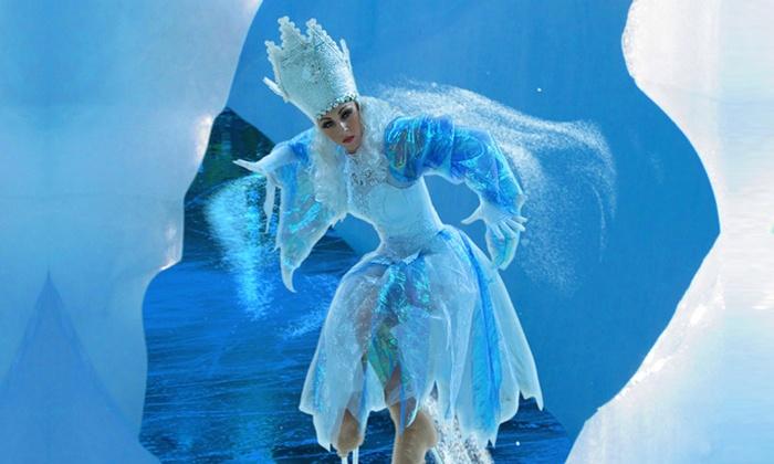 חנוכה 2015 - מלכת השלג בקרקס על הקרח ממוסקבה לכל המשפחה, מגוון תאריכים ומקומות, רק ב-99 ₪ לכרטיס!