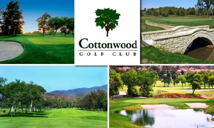 Cottonwood Golf Club - Rancho San Diego: 18 Holes of Golf for Two at Cottonwood Golf Club