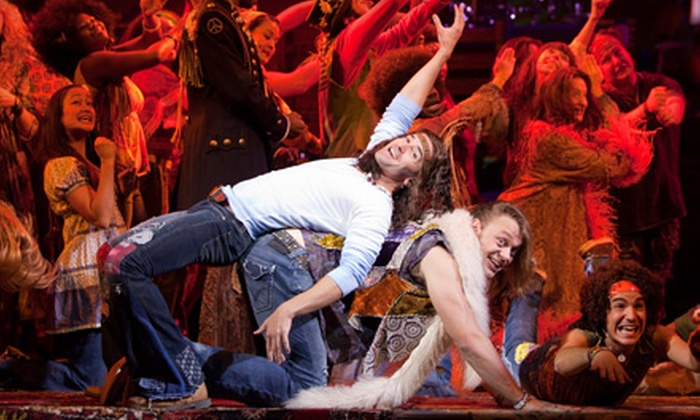 """""""Hair"""" on Broadway - Theater District - Times Square: $35 for Two Balcony Seats to Broadway's """"Hair"""" ($74 Value). $69 or $89 for Two Mezzanine Seats (Up to $240 Value)."""