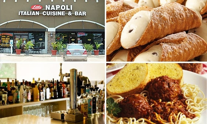 Little Napoli Italian Cuisine and Bar - Woodlake/ Briar Meadow: $10 for $20 of Italian Food and Drinks at Little Napoli