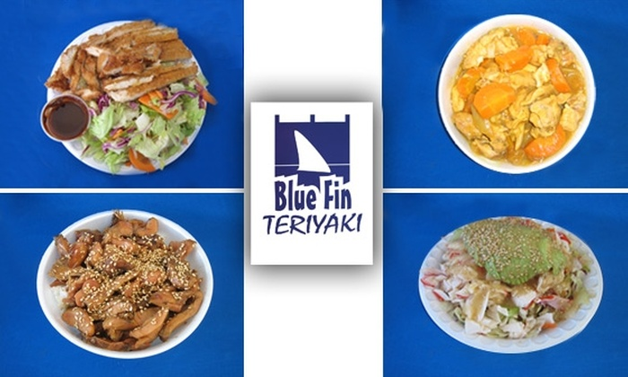 Blue Fin - Central City: $5 for $10 Worth of Japanese Cuisine at Blue Fin