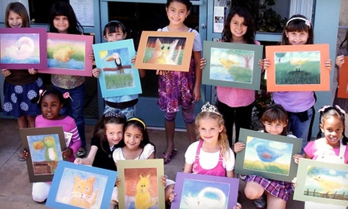 Art With Larisse - Multiple Locations: $30 for Four Children's Pastel Classes at Art With Larisse ($60 Value). Choose from Two Locations.