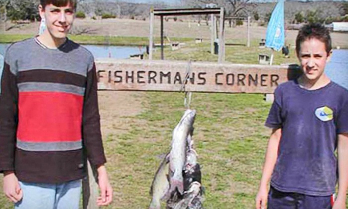 Fisherman's Corner - Canyon Lake: Fishing Outing for Two or Four from Fisherman's Corner in Canyon Lake