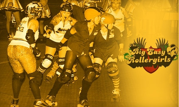 Big Easy Rollergirls - Lake Terrace - Oaks: $15 for Two Tickets to a Big Easy Rollergirls Doubleheader on Saturday, July 24, at 6 p.m. ($28 Value)