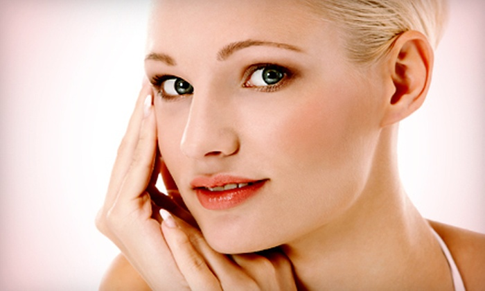 Olena's European Spa & Salon - Southgate: $450 for Three Laser Skin-Tightening Treatments for One Area of the Face at Olena's European Spa & Salon ($900 Value)