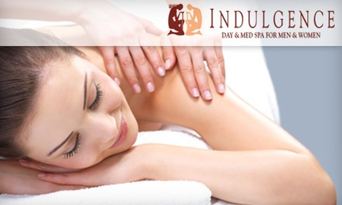 Indulgence Day and Med Spa - Los Angeles: $40 for One-Hour Swedish or Muscle Tension Release Massage Plus Various Discounted Services at Indulgence Day and Med Spa