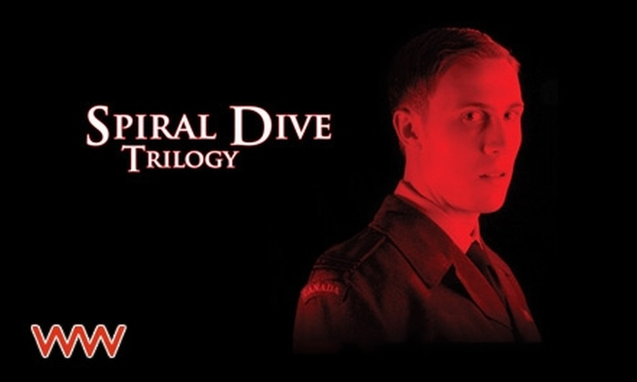 "Workshop West Theatre - Bonnie Doon: $12 for One General Admission Ticket to ""Spiral Dive: Episode One"" at Workshop West Theatre (Up to $25 Value). Choose from Four Dates."