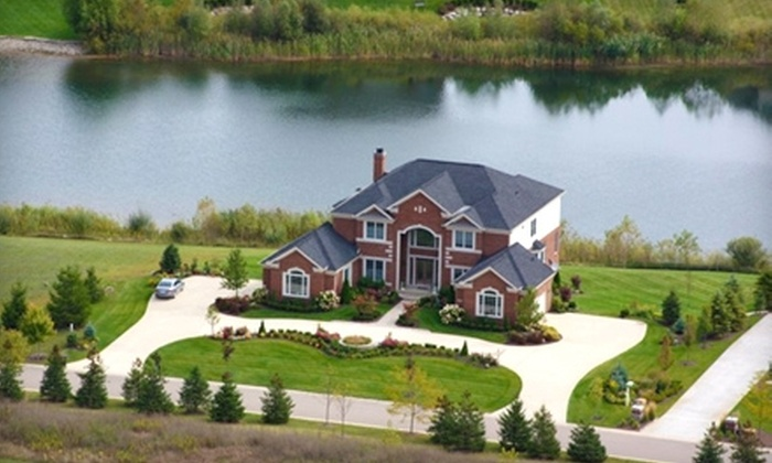 """Midwest Aerial Photography LLC - Detroit: $99 for a Residential Aerial Photography Session, One 8""""x12"""" Print, and Photo CD from Midwest Aerial Photography LLC ($199 Value)"""