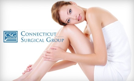 Connecticut Surgical Group's Laser & Skin Care Services: 3 Small Area Laser Hair-Removal Sessions - Connecticut Surgical Group's Laser & Skin Care Services in Farmington
