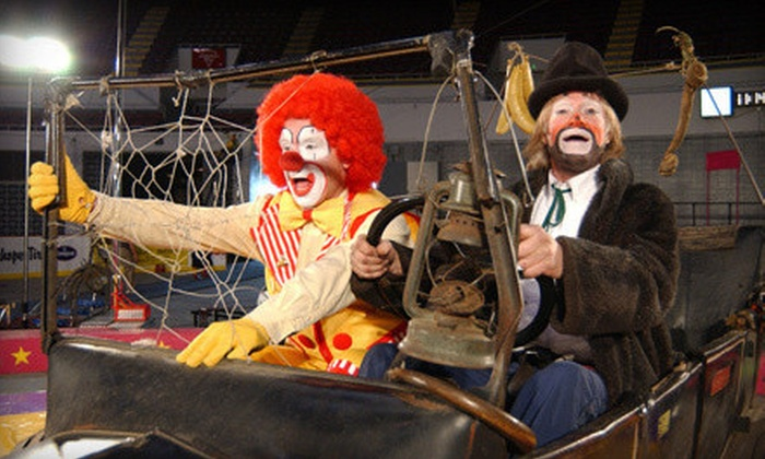 Piccadilly Circus - Trotwood: $25 for a Circus Trip for Family of Six to Piccadilly Circus at Hara Arena (Up to $111.50 Value). Six Shows Available.