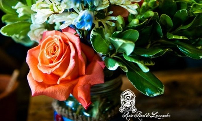 Rose Red and Lavender - Greenpoint: $40 for a Floral Design Class ($85 Value) or $25 for $50 Worth of Flowers and Gifts at Rose Red & Lavender