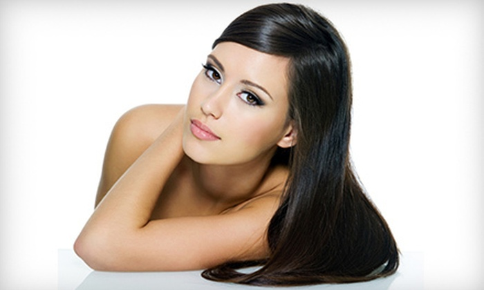 Roots Salon and Spa - Rockwood: $109 for Keratin Smoothing Treatment at Roots Salon and Spa ($300 Value)