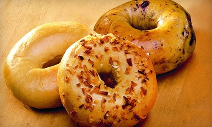 Bruegger's - Multiple Locations: Bagels, Sandwiches, Coffee, and More at Bruegger's. Four Options Available.
