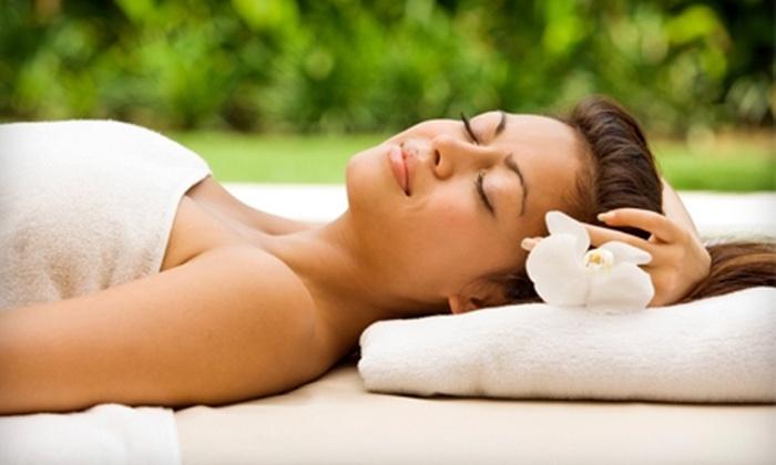 Senses NY Salon & Spa - Flatiron District: $75 for a Massage, Mani-Pedi, and Blow-Dry Style at Senses NY Salon & Spa