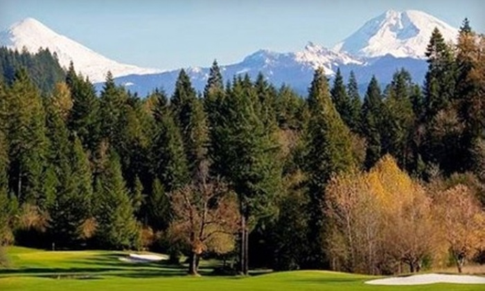 Tokatee Golf Club - Portland: $42 for 18 Holes of Golf for Two at Tokatee Golf Club in Blue River (Up to $84 Value)