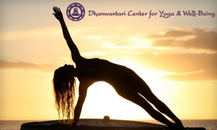 Dhanwantari Center for Yoga & Well-Being - South Bend: $36 for a Six-Class Pass at Dhanwantari Center for Yoga & Well-Being