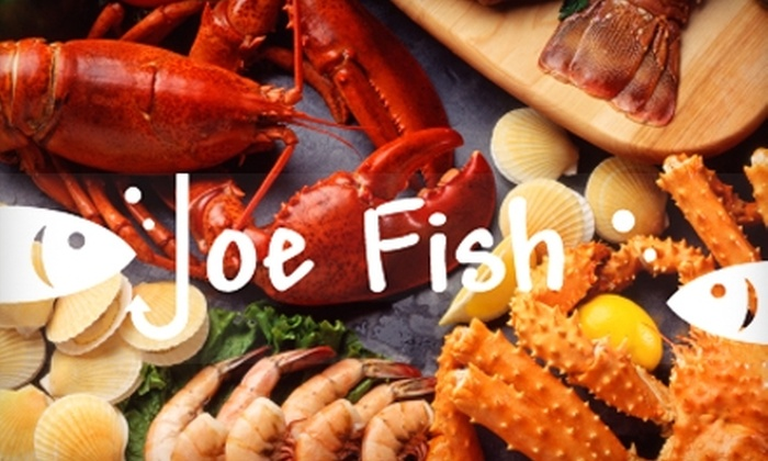 Joe Fish Casual Seafood - Mooresville: $15 for $30 Worth of Seafood and Refreshments at Joe Fish Casual Seafood in Mooresville