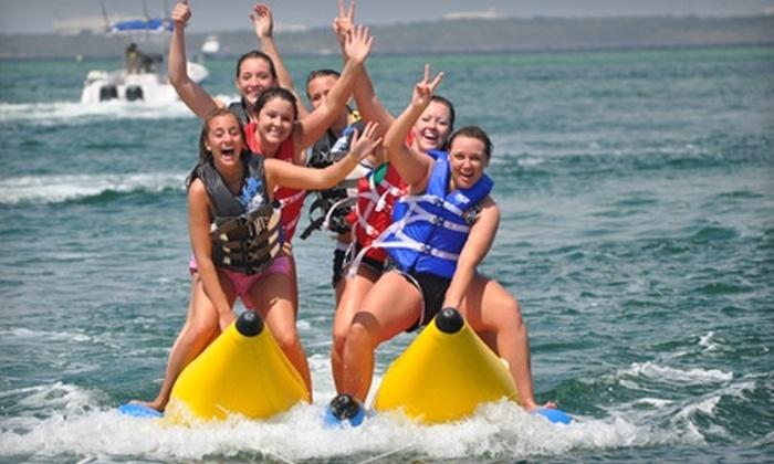 Mobile Sports - Destin: $20 for a 45-Minute Banana Boat Ride at Mobile Sports in Destin ($40 Value)