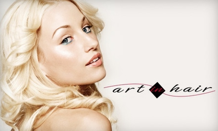Art In Hair - Burlington: $34 for a Women's Cleanse, Cut, and Blow Dry/Style at Art in Hair in Burlington ($68 Value)