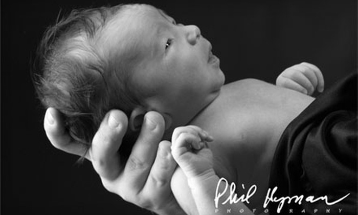 """Phil Hyman Photography - Augusta Street Area: $75 for a One-Hour Indoor or Outdoor Session, One 8""""x10"""" Print, and One 5""""x7"""" Print at Phil Hyman Photography ($334 Value)"""