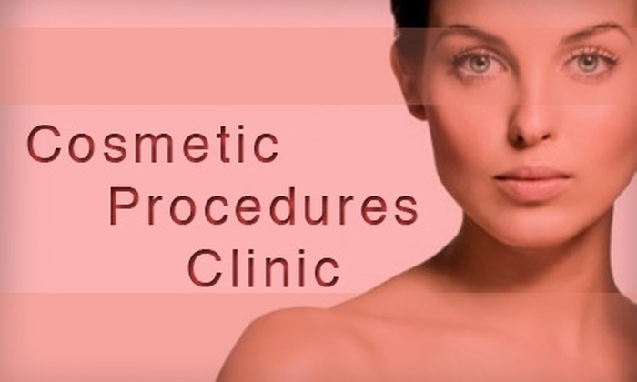Cosmetic Procedures Clinic - North Dallas: $399 for Ultimate Skin Regeneration ProFractional Treatment from Cosmetic Procedures Clinic of North Dallas ($800 Value)