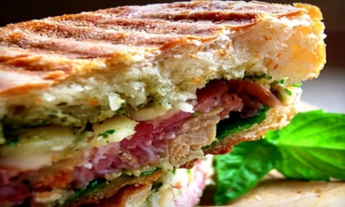 Cafe Fudgelato - Alameda: $5 for $10 Worth of Sandwiches and Gelato at Cafe Fudgelato in Alameda