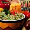 $7 Fare at 3 Amigos Mexican Grill