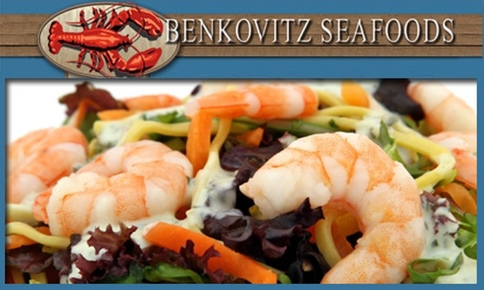 Benkovitz Seafoods - Strip District: $7 for $15 Worth of Freshly Cooked Fish and Seafood at Benkovitz Seafoods
