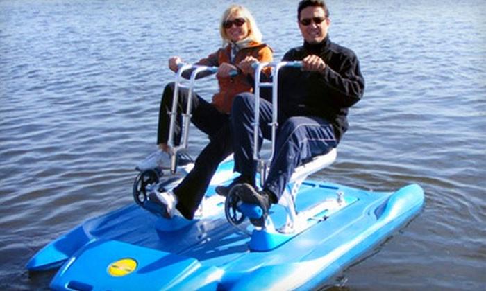 Water Bike Rental Vancouver Water Adventures Groupon