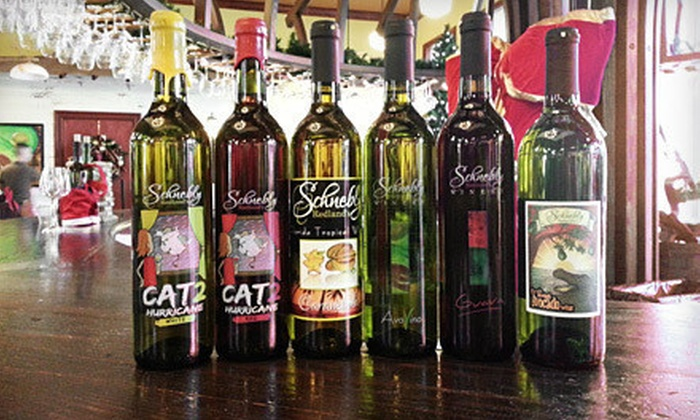Schnebly Redland's Winery & Brewery - Homestead: $29 for a Wine-Tasting Package for Two on a Friday or Saturday at Schnebly Redland's Winery & Brewery ($59.90 Value)