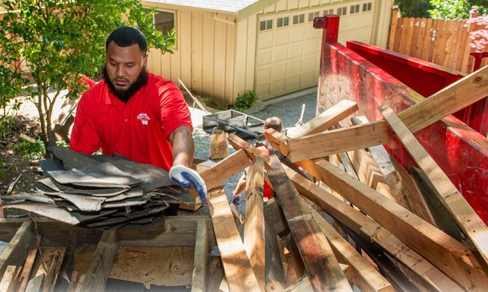 Junk Works - Kitchener - Waterloo: C$89 for Junk Removal Equalling 1/6th of a Truck from Junk Works (C$188 Value)