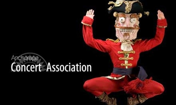 "Anchorage Concert Association - Downtown: $22 for One A-Tier Seating Ticket to ""The Nutcracker"" at the Atwood Concert Hall on Sunday, November 28 at 5 p.m. ($45 Value)"